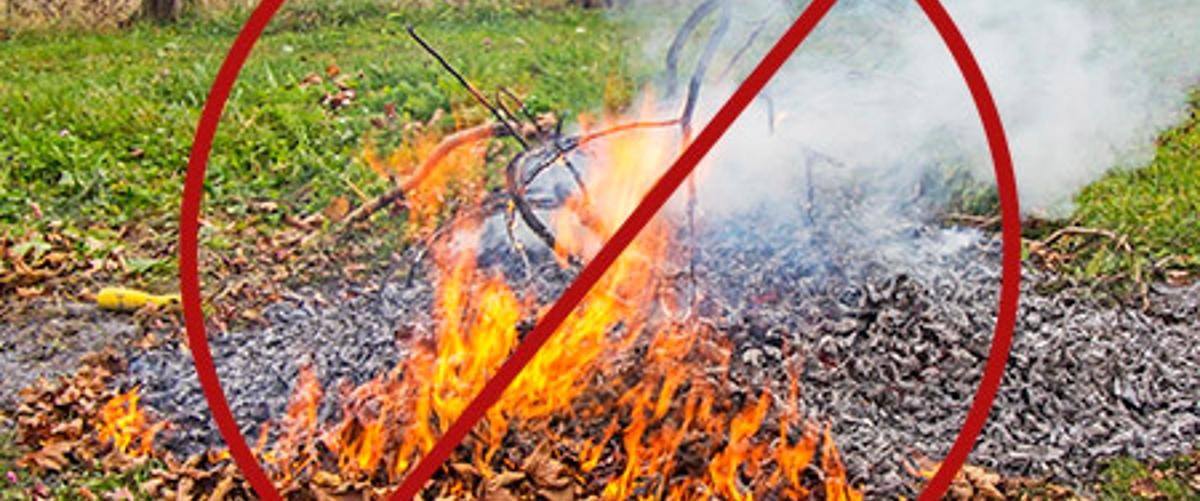 Restricted Residential Burning Law