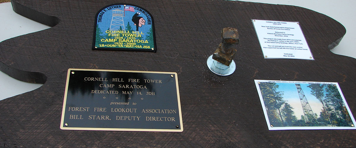 Cornell Hill Fire Tower 1